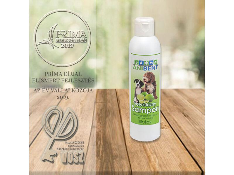 Folyékony sampon kutyáknak - zöldcitrom illatú