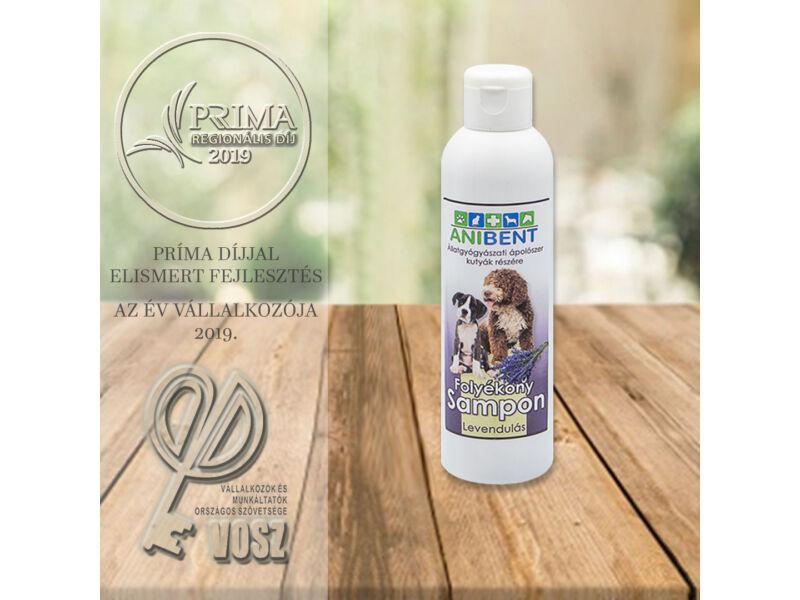 Folyékony sampon kutyáknak - levendula illatú