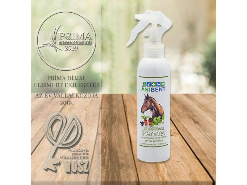 Frissítő illóolaj permet lovak részére gerániummal és citromfűvel
